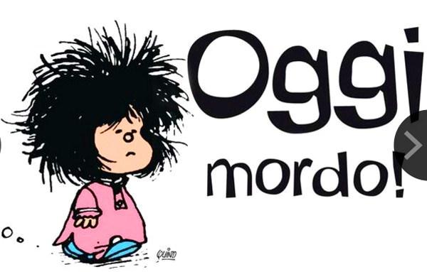 Buon Compleanno Mafalda Eterna Bimba Arrabbiata Arruffata E