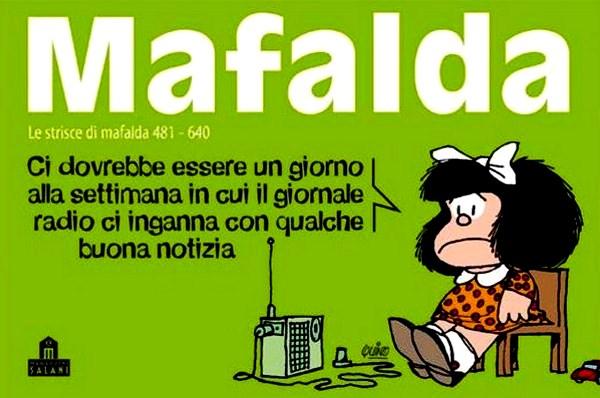 Favoloso Buon Compleanno Mafalda, eterna bimba arrabbiata, arruffata e  QE06