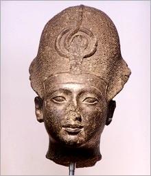 Testa del faraone Sethi I (XIX dinastia, XIII sec. A. C.)