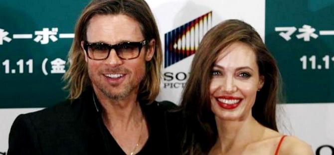 Brad Pitt e Angelina Jolie in Giappone per la presentazione di 'Moneyball'