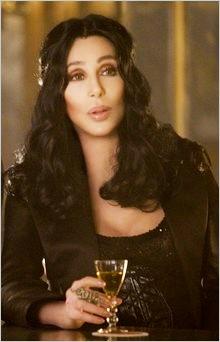La cantante e attrice Cher in una scena del film