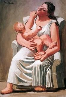 Picasso, 'Maternità' 1921