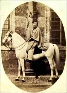 Garibaldi a cavallo