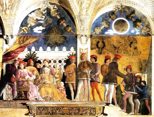 Andrea mantegna rinvenute 4 pergamene inedite del pittore for La camera degli sposi di andrea mantegna