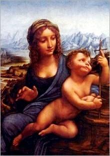 Leonardo da Vinci, 'Madonna dei fusi'