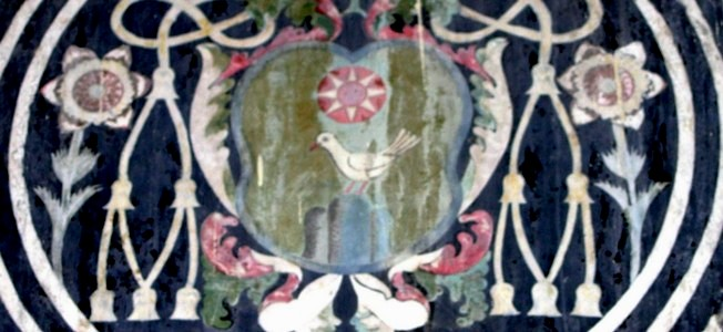 Stemma del vescovo Loyero conservato nella ex cattedrale di Umbriatico