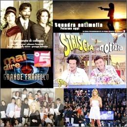 Palinsesti tv: nel 2008 oltre 4mila ore dedicate a reality e intrattenimento