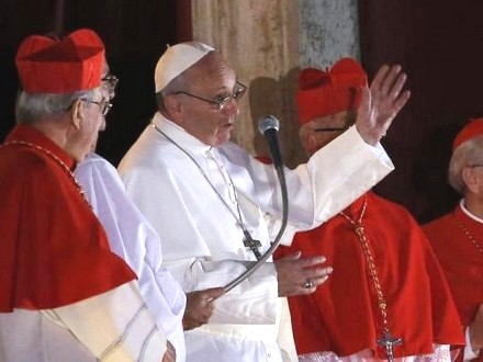 Papa Francesco I, il Papa venuto