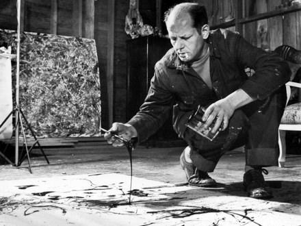 A Firenze la 'furia' di Jackson Pollock incontra quella di Michelangelo Buonarroti