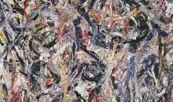Jackson Pollock, 'Earth Worms', 1946 © Jackson Pollock, by SIAE 2014 (particolare)