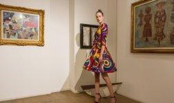 Abito ispirato a Sonia Delaunay