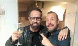 Marco Baldini e lo Chef Renato Bernardi