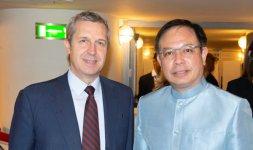 Il Sottosegretario Benedetto della Vedova e S.E. Sig. Ambasciatore del Regno di Thailandia Tana Weskosith