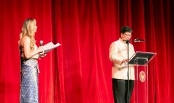 Antonella Salvucci e il Vice Segretario Generale del Ministro Affari Esteri della Thilandia Mr. Thani Thongphakdi