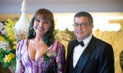 Elena Bonelli insieme all'Ambasciatore ONU Felipe Camargo