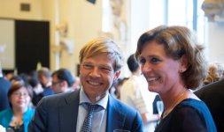 Ambasciatore dei Paesi Bassi Joep Wijnands e Signora