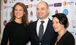 Da sinistra: la stilista Irene Mattei, il Senior Private Banke Gino Tozzi e la jewelry designer Gaia Caramazza