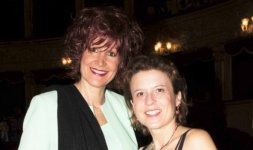 Da sinistra: la giornalista di LF Magazine Loredana Filoni e la giornalista de Il Messaggero Maria Serena Patriarca