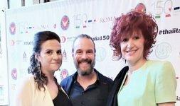 Da sinistra: la giornalista Francesca Nanni, lo Chef Renato Bernardi e la giornalista di Loredana Filoni