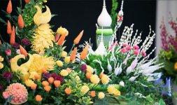 Sculture vegetali Thai intagliate