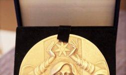 Medaglia realizzata dall'artista ligure Vanessa Cavallaro maestro incisore