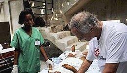 Haiti: MSF,