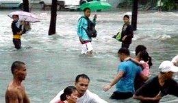 Filippine in balia del tifone Nesat, sette i morti, oltre 100mila evacuati