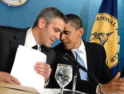George Clooney, record di donazioni per l'uomo del Presidente