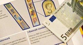 Moneta unica si cambia: a maggio arrivano le nuove banconote da 5 Euro