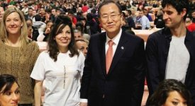 Ban Ki-moon ai ragazzi di San Patrignano:
