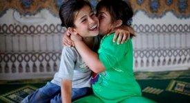 Il dramma di bimbi siriani: Lake,
