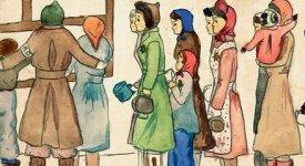 Shoah: tra atrocità e speranze, i disegni senza disperazione di Helga Weiss