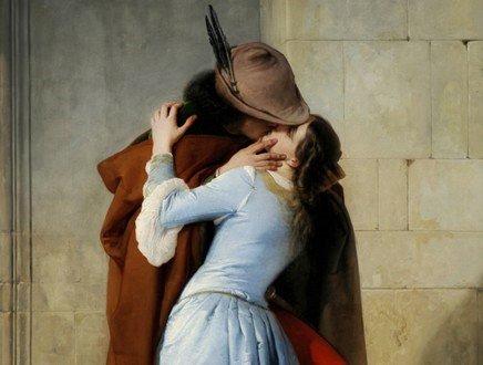 Romantico e appassionato, il bacio più bello di sempre è di un pittore veneziano