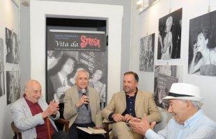 Da sinistra: Raffaele La Capria, Roberto Ippolito e Stefano Petrocchi