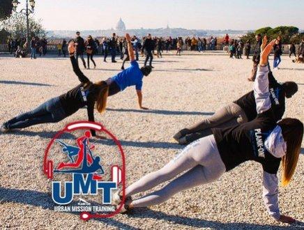 'Urban Mission Training': parte da Roma il primo fitness tour mondiale che allena e rende solidali