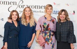 Patrizia Mirigliani, Barbara De Rossi, Marina Colombari e Debora Diodati