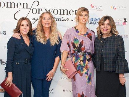 Pioggia di stelle alla IV edizione Women for Women against violence - Premio Camomilla