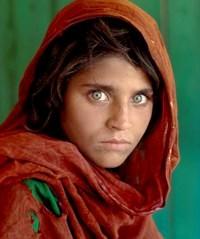 'Afghan girl', Peshawar (Pakistan, 1984)