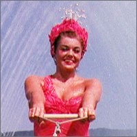 L'attrice americana Esther Williams in 'Easy to Love'