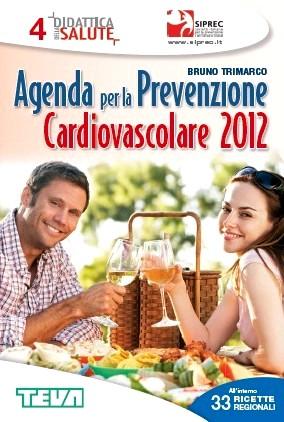 Copertina dell'Agenda per la prevenzione cardiovascolare 2012