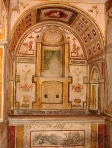 Castel Sant'Angelo: il bagnetto di Papa Clemente VII (Giuliano de' Medici)