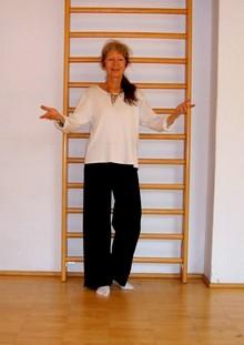 La psicologa e danza movimento terapeuta, dott.ssa Valeria Scavazza