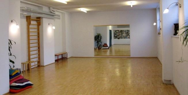 Lo spazio in cui si svolgono le sedute di Danza Movimento Terapia
