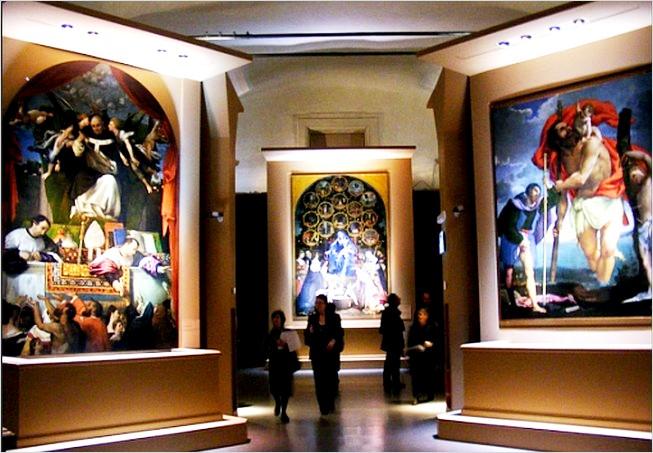 L'allestimento della mostra, foto di Francesco Amorosino