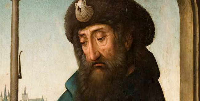 'San Giacomo pellegrino', Juan de Flandes, Museo di San Giacomo e dei pellegrinaggi, Santiago del Compostela