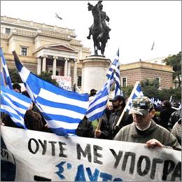 Grecia: tutti contro le misure del pacchetto di Austherity del Governo