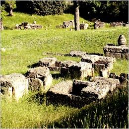 Marzabotto: il tramonto nell'area archeologica tra letteratura antica e musica
