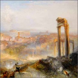 Aste: va al Getty Museum di Los Angeles il paesaggio romano di William Turner