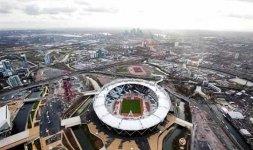 Visione aerea del parco olimpico di Londra [london2012.com]