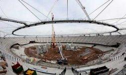 Cantiere interno al nuovo Stadio [london2012.com]